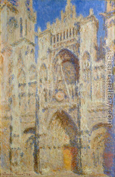 Portal In The Sun by Claude Oscar Monet - Reproduction Oil Painting