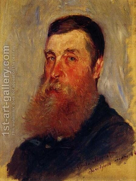 Portrait Of An English Painter  Bordighera by Claude Oscar Monet - Reproduction Oil Painting