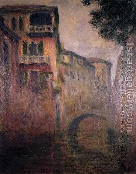 Rio Della Salute2 by Claude Oscar Monet - Reproduction Oil Painting