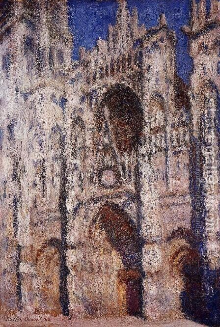 Rouen Cathedral2 by Claude Oscar Monet - Reproduction Oil Painting