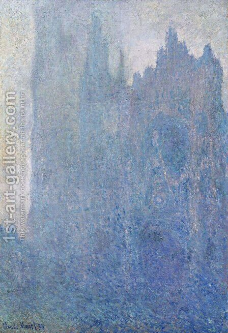 Rouen Cathedral In The Fog by Claude Oscar Monet - Reproduction Oil Painting