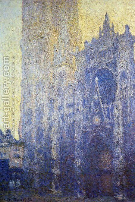 Rouen Cathedral  The Portal And The Tour D Albane  Morning Effect by Claude Oscar Monet - Reproduction Oil Painting