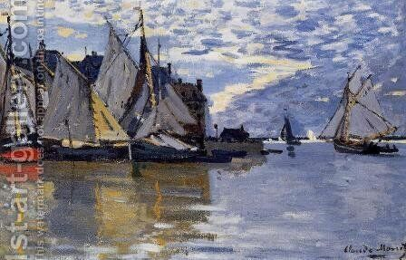 Sailboats by Claude Oscar Monet - Reproduction Oil Painting