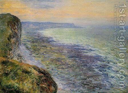 Seascape Near Facamp by Claude Oscar Monet - Reproduction Oil Painting