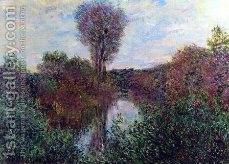 Small Arm Of The Seine At Mosseaux by Claude Oscar Monet - Reproduction Oil Painting