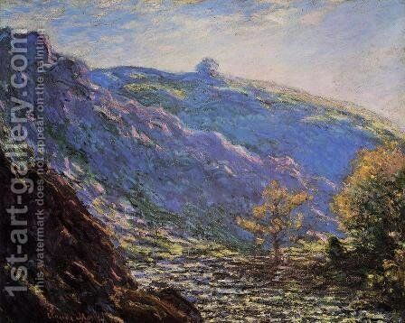 Sunlight On The Petit Cruese by Claude Oscar Monet - Reproduction Oil Painting