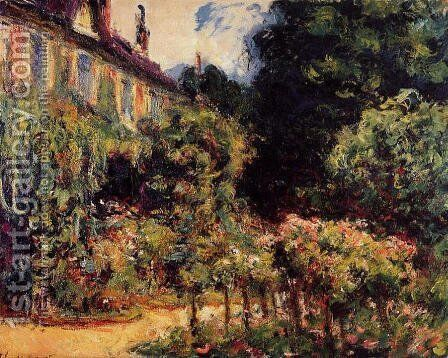 The Artists House At Giverny by Claude Oscar Monet - Reproduction Oil Painting