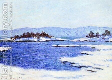 The Banks Of The Fjord At Christiania by Claude Oscar Monet - Reproduction Oil Painting