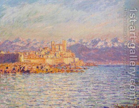 The Bay Of Antibes by Claude Oscar Monet - Reproduction Oil Painting