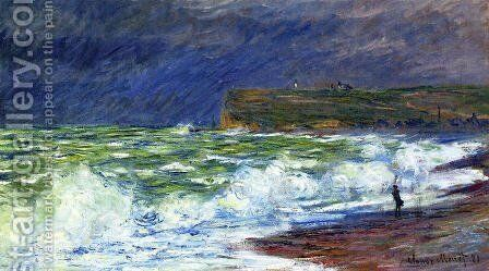The Beach At Fecamp by Claude Oscar Monet - Reproduction Oil Painting