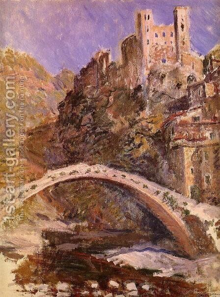 The Castle At Dolceacqua by Claude Oscar Monet - Reproduction Oil Painting