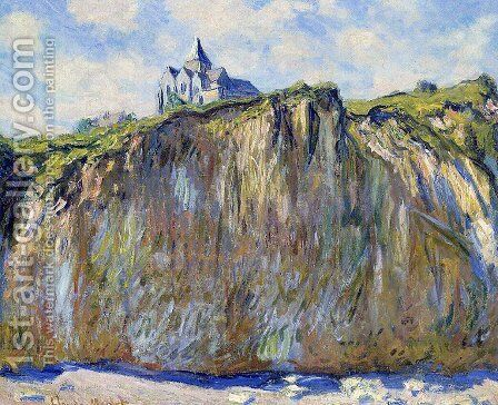 The Church At Varengeville by Claude Oscar Monet - Reproduction Oil Painting