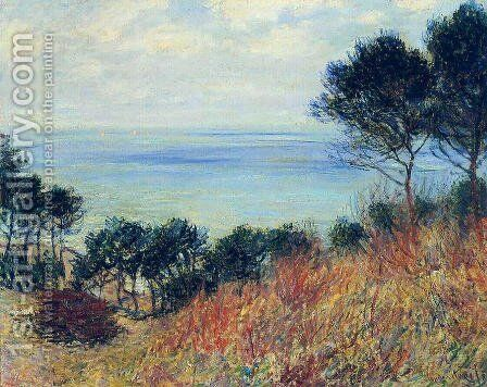 The Coast Of Varengeville by Claude Oscar Monet - Reproduction Oil Painting