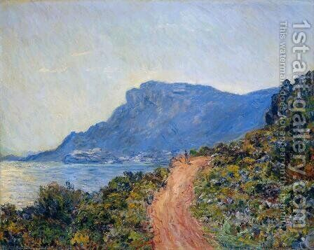 The Corniche Of Monaco by Claude Oscar Monet - Reproduction Oil Painting