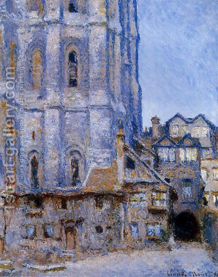 The Cour D Albane by Claude Oscar Monet - Reproduction Oil Painting