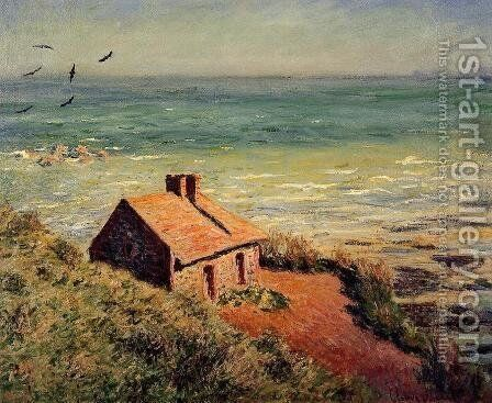 The Custom House  Morning Effect by Claude Oscar Monet - Reproduction Oil Painting