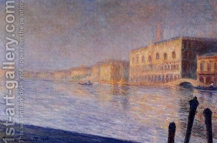 The Doges Palace by Claude Oscar Monet - Reproduction Oil Painting