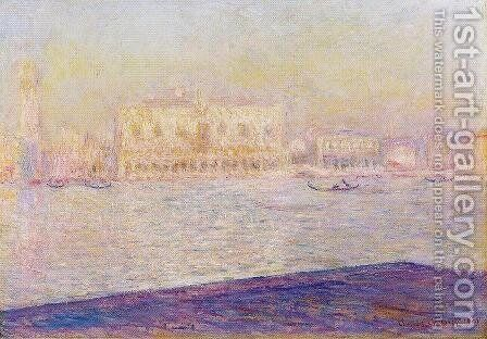The Doges Palace Seen From San Giorgio Maggiore2 by Claude Oscar Monet - Reproduction Oil Painting
