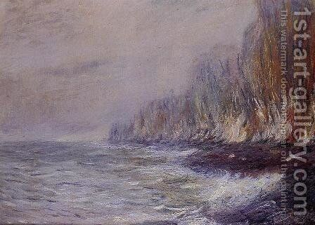 The Effect Of Fog Near Dieppe by Claude Oscar Monet - Reproduction Oil Painting