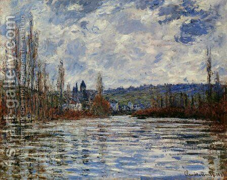 The Flood Of The Seine At Vetheuil by Claude Oscar Monet - Reproduction Oil Painting