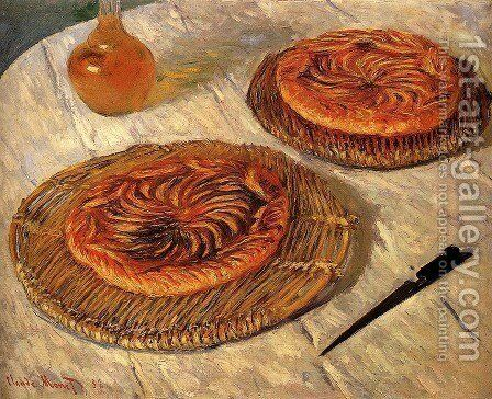 The Galettes by Claude Oscar Monet - Reproduction Oil Painting