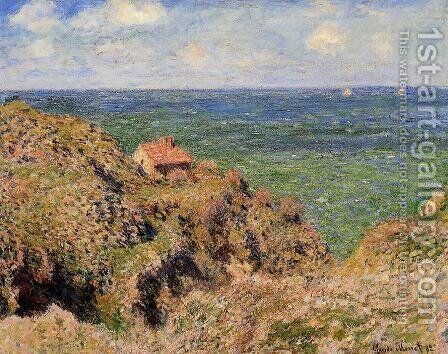 The Gorge At Varengeville by Claude Oscar Monet - Reproduction Oil Painting