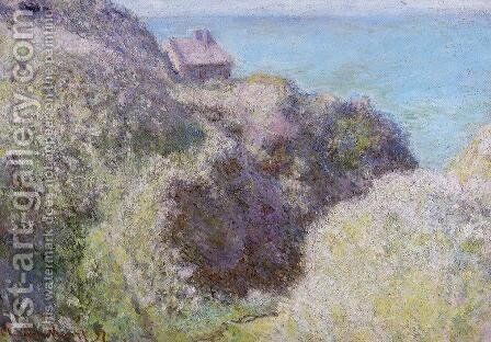 The Gorge Du Petit Ailly  Verengeville  Grey Weather by Claude Oscar Monet - Reproduction Oil Painting