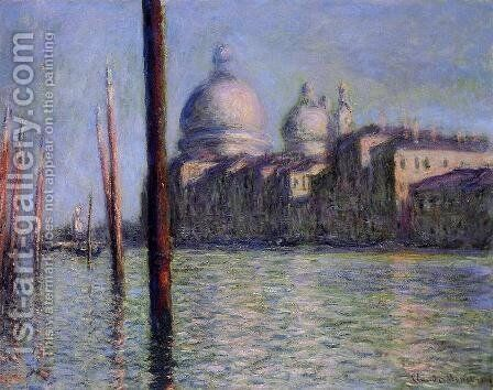 The Grand Canal by Claude Oscar Monet - Reproduction Oil Painting