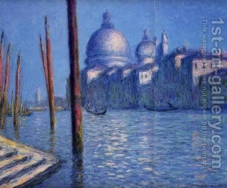 The Grand Canal2 by Claude Oscar Monet - Reproduction Oil Painting