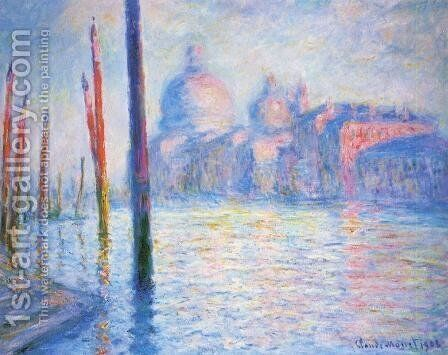 The Grand Canal3 by Claude Oscar Monet - Reproduction Oil Painting