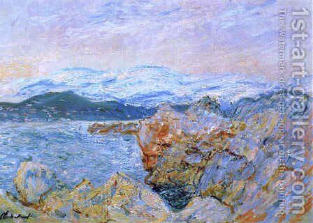 The Gulf Juan At Antibes by Claude Oscar Monet - Reproduction Oil Painting