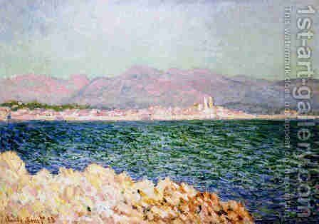 The Gulf Of Antibes by Claude Oscar Monet - Reproduction Oil Painting