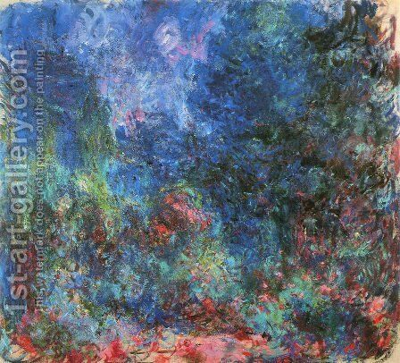 The House Seen From The Rose Garden2 by Claude Oscar Monet - Reproduction Oil Painting