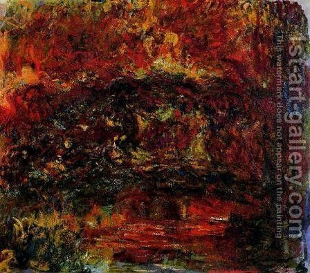 The Japanese Bridge2 by Claude Oscar Monet - Reproduction Oil Painting