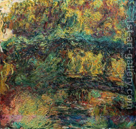 The Japanese Bridge6 by Claude Oscar Monet - Reproduction Oil Painting