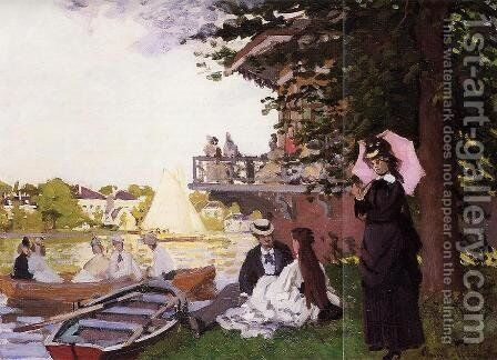 The Landing State by Claude Oscar Monet - Reproduction Oil Painting