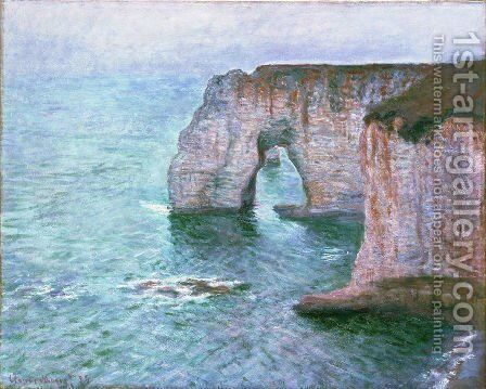 The Manneport Seen From The East by Claude Oscar Monet - Reproduction Oil Painting