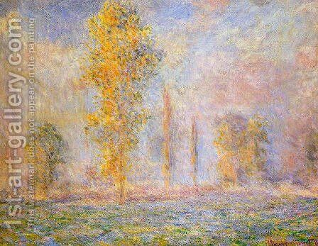 The Meadow At Giverny by Claude Oscar Monet - Reproduction Oil Painting