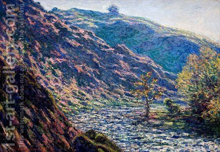 The Old Tree At The Confluence by Claude Oscar Monet - Reproduction Oil Painting