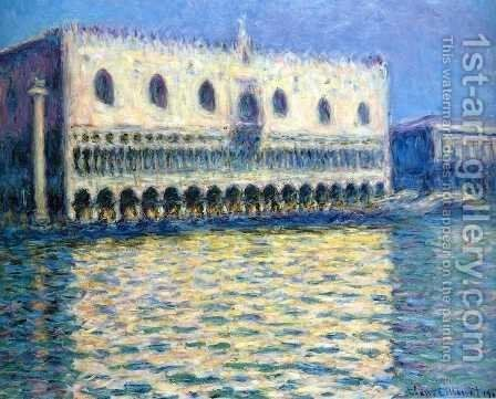 The Palazzo Ducale2 by Claude Oscar Monet - Reproduction Oil Painting