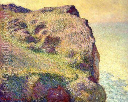 The Pointe Du Petit Ailly by Claude Oscar Monet - Reproduction Oil Painting
