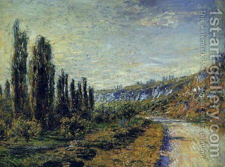 The Road From Vetheuil by Claude Oscar Monet - Reproduction Oil Painting