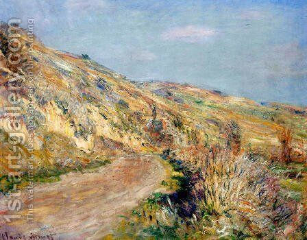 The Road To Giverny2 by Claude Oscar Monet - Reproduction Oil Painting