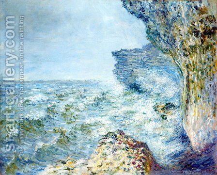 The Sea At Fecamp by Claude Oscar Monet - Reproduction Oil Painting