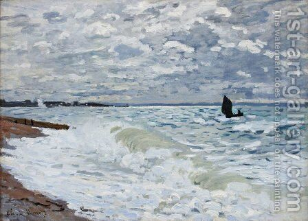 The Sea At Saint Adresse by Claude Oscar Monet - Reproduction Oil Painting
