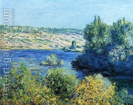 The Seine At Vetheuil2 by Claude Oscar Monet - Reproduction Oil Painting
