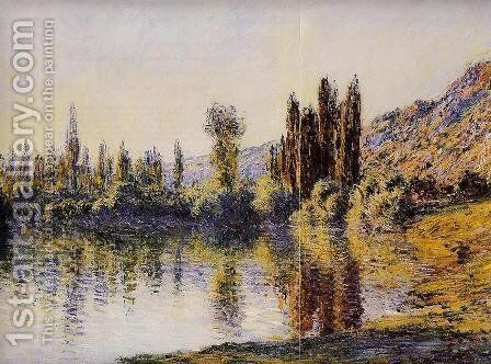 The Seine At Vetheuil4 by Claude Oscar Monet - Reproduction Oil Painting