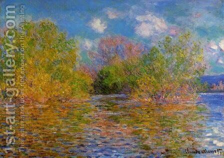 The Seine Near Giverny3 by Claude Oscar Monet - Reproduction Oil Painting