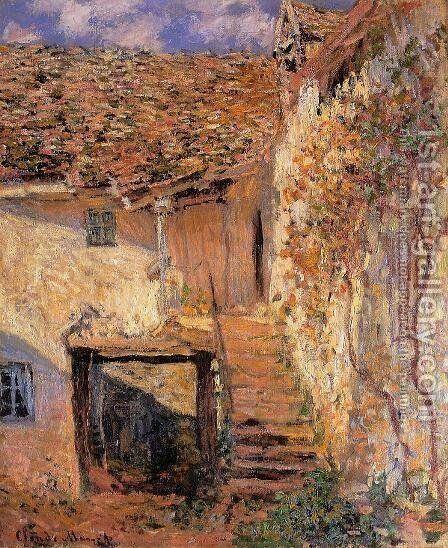 The Steps by Claude Oscar Monet - Reproduction Oil Painting