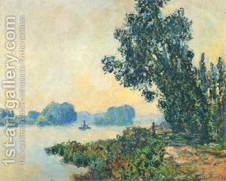 The Towpath At Granval2 by Claude Oscar Monet - Reproduction Oil Painting